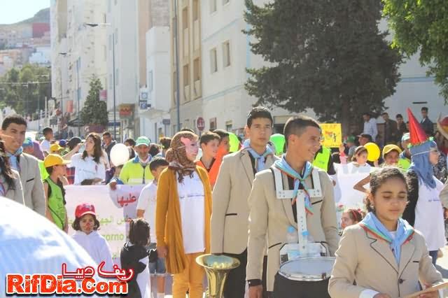 مسيرة كرنفالية ألحسيمة (2)