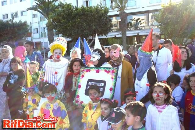 مسيرة كرنفالية ألحسيمة (5)
