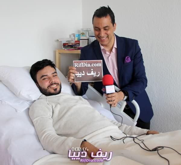 773a0d523d62d بالفيديو.. وليد امعنكاف يُطلع مُتَتبعيه بأخر مُستجدات حالته الصحية ...