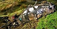 مصرع مغربيين في حادثة سير على الحدود الالمانية الهولندية (صور)