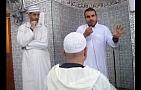 مواطن فرنسي ينطق بالشهادتين في رحاب مسجد أبي بكر الصديق بأزغنغان
