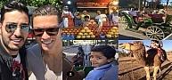 """عائلة رونالدو """"نـاشطة"""" في المغرب و إليكم الصور"""