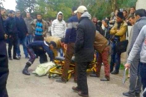 """إنتحار طالب بالحي الجامعي يُشعِل جامعة محمد الأول بوجدة """"بالصور"""""""