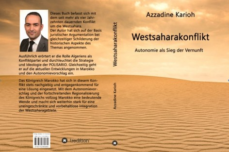 عز الدين قريوح يصدر  كتابا حول الصحراء بالألمانية