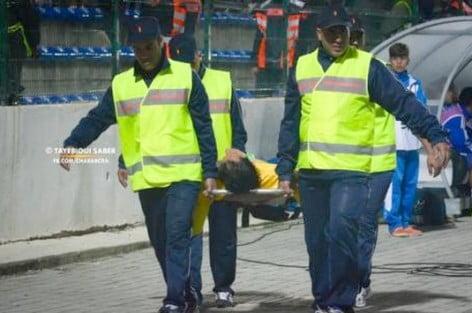 حارس شباب الريف يُغادر المستشفى بعد أن تَجَاوَز مرحلة الخطر